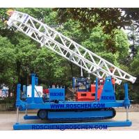 Quality Hydraulic Crawler Mounted Drilling Rig For Horizontal And Vertical Geotechnical for sale