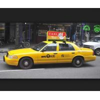 China Top selling outdoor High brightness P4 taxi led display, 3G advertising P5 taxi top led display wholesale