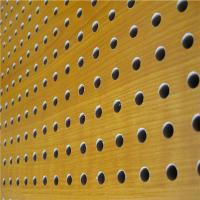 China KTV Perforated Wood Acoustic Panels MDF Soundproof Acoustic Board wholesale