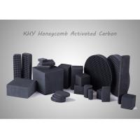 China Square Honeycomb Activated Carbon High Suction Performance For Air Purification wholesale
