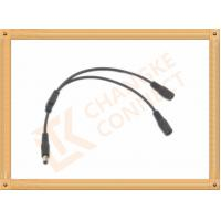 China OEM / ODM DC12V custom power cables Male To Female 1 To 2 Y Type wholesale