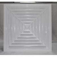China Square ceiling diffuser on sale