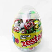 China Diamond and Dinosaur Egg Shape Healthy Hard Candy , Pop Snack Children's Love wholesale