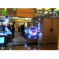 China SMD2121 kinglight Transparent LED Screen advertising / Transparent Poster Screen wholesale