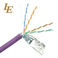 Twisted Ethernet Network Lan Cable Customizable U / UTP Cat 5e 4 In 1 Unshielded