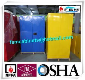 China Steel Flame Resistant Cabinet Hazmat Locker For Corrosive Liquid In Chemical wholesale