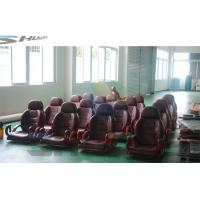 China Flat / Arc / Circular / Globular Screen 5D Cinema System With Motion Theater Chair wholesale