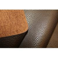 China Embossed Full Grain Cow Leather 1.4mm - 1.6 mm Thickness With Printing wholesale