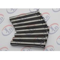 China Carbon Steel CNC Turned Parts 10*46mm Small Q345 Steel Shaft Pins + - 0.1 Mm Tolerance wholesale