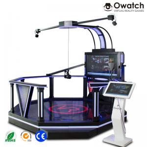 China Walking platform htc vr space platform 9d virtual shooting simulator for sale wholesale