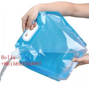 China Outdoor camping water bag travel portable bucket sports hiking folding kettle drinking water bag water storage bag wholesale