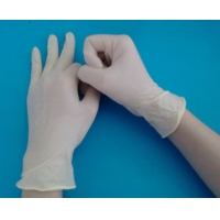 Buy cheap Examinations Latex Gloves Powder Free with CE and Test report from wholesalers