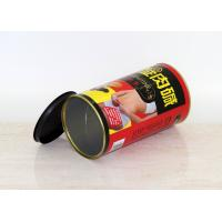 Round Easy Close Dry Foods / Gifts Paper Composite Cans Dia 126 mm , H 140 mm