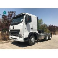 China HOWO A7 420 HP 6X4 Tractor Trailer Truck / Diesel Tractor Truck HF7 Front Axle wholesale