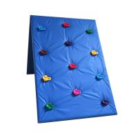 China Plastic Kids Outdoor Climbing Wall Stones Customized Size For Park / School wholesale