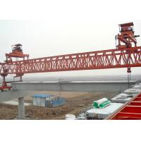 China Precast Bridge Girder Erection Machine With 10M Max Lifting Height For Highway wholesale