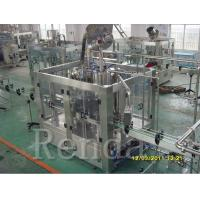 China 750ml 2000 BPH Beer Filling Machine , CE Beer Canning Equipment SUS304 380V wholesale