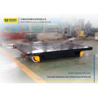 China Anti - Explosion Flat Rail Transfer Trolley Storage Battery Powered Source on sale