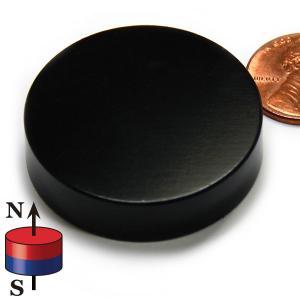 China Kellin Neodymium Magnet Disc Black Epoxy Coated NdFeB Magnet Disk Magnetic Cylinder wholesale