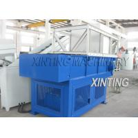 China Pipes Waste Films Plastic Shredder Machine Automatic With Overloaded Protection on sale