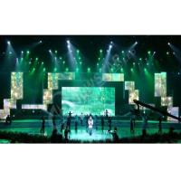 China SMD High Definition Rental Led Displays , Slim Led Video Screen Rental Best Visualization wholesale