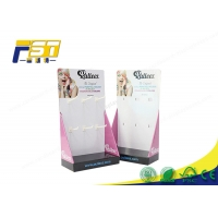Buy cheap CMYK Recycled PDQ Cardboard Hook Counter Display Panton from wholesalers