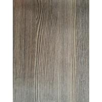 China Natural Look Wood Grain Finish Foil Paper 1270mm PU Painting Scratch Resistance For Drawers wholesale