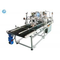China Double Side Automatic Labeling Machine For Big Cardboard Box High Efficiency wholesale