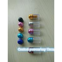 China Small Blue Clear Sex Pill Container Pharmacy Vials Empty Medicine Bottles wholesale
