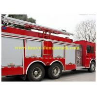 China Carbon Steel Fire Fighting Truck 6x4 12 CBM Water Tank SINOTRUK HOWO wholesale