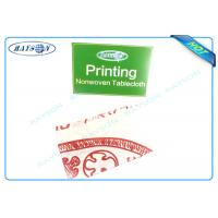China Printed Environmentally Friendly Party Disposable Tablecloths45 gr / 50gr / 70gr Cutting Piece wholesale