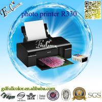 China Printing Machine Tshirt / CD / Tray / PVC / ID Card 6 Colors A4 Inkjet Printer R330 for Sublimation & Photo Printing wholesale