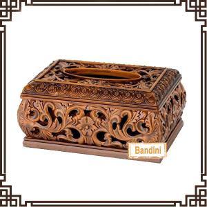 Hot sale facial tissue box design Luxury Resin tissue box Antique resin tissue box A0381E