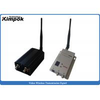China 0.9Ghz / 1.2Ghz Wireless Camera Transmitter 5000mW Security Video Sender 5~10km Range wholesale