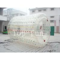 China Colorful inflatable water roller , human size inflatable water rollers ball wholesale