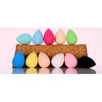 Buy cheap Oval Makeup Powder Puffs Colourful Blender Waterdrop Shape Sponge from wholesalers