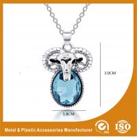 China Zinc Alloy Stainless Steel Chain Necklace With Sheep Pendant wholesale