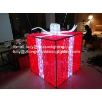 China christmas gift box decoration light wholesale