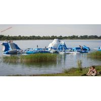 China Commercial Grade Inflatable Blow Up Water Park With Iceberg And Water Toys wholesale