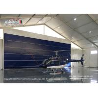 China High Reinforce  Aluminum Frame Aircraft Hangar Tent for Helicopter on sale