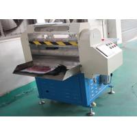 China High Safety Rubber Cutting Equipment , Digital Rubber Slippers Cutting Machine wholesale