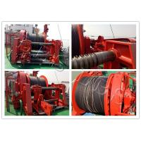 China Marine 20-Ton Hydraulic Winch / Horizantal & Hoist Winch with Large Rope Capacity wholesale