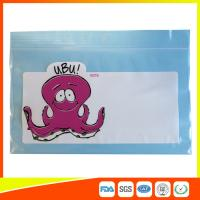 China Transparent / Colored Packing Ziplock Bags Airtight For Electronic Items Storage wholesale