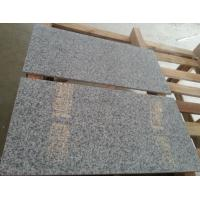 China Chinese 654 G654 Padang Dark Granite Tiles&Slabs 24''x24'' with Split Face on sale