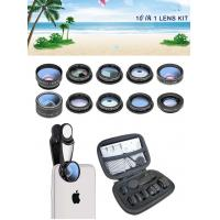China 2019 new design 10 in 1 cell phone camera lens for all smart phones wholesale
