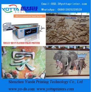 2016 hot sale uv printer flatbed for ceramic tiles wallpaper ,home decoration