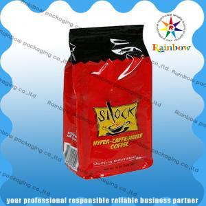 China Custom PE / AL / PET Stand Up Plastic Coffee / Tea Bags With Full Printing wholesale