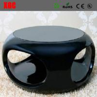 China Patio Fiberglass Coffee Table Commercial Hollow Tea Table Fiberglass Hollow End Table wholesale