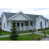 China High Insulated ASTM Light Steel Prefab House , DIN Light Steel Structure House wholesale