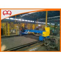 China Industrial Automatic CNC Gantry Cutter / Plasma Steel Plate Cutter Machine on sale